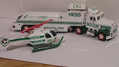 1994 Hess Toy Truck And Helicopter,  New  ( Free Shipping )