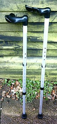 pair of crutches, coopers medium size 70-95cm height