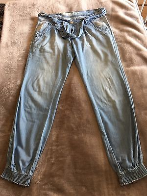 New Look Soft Denim Cuffed Jeans Size 12