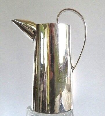 "VTG WILLIAM SPRATLING TAXCO 925 STERLING SILVER LG CREAMER PITCHER, 5"", 6.2 oz"
