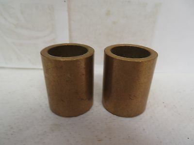 "New No Name Brass Bronze Bushing Ep121620 3/4"" Id 1"" Od 1-1/4"" Width ""lot Of 2"""