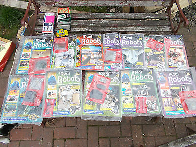 Ultimate Real Robots 12 Magazines and Parts