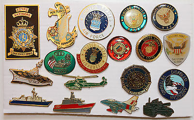 Pin's lot de pins US Army  United states Air force Navy