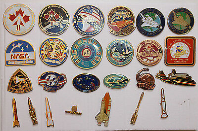 Pin's lot de pins NASA-ESA-Aérospatiale
