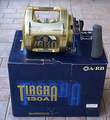 Shimano Tiagra 130A 2Speed // TI130A // Sea Fishing Overhead Big Game Reel *New*