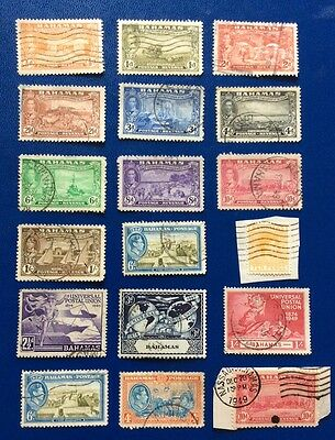 British Commonwealth A Small Selection Of Stamps From The Bahamas