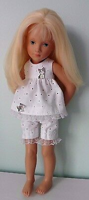 Pixies Hand Made: Shorty Pyjamas : Compatible With 16 Ins Starlette Doll