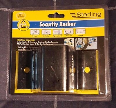 Sealed and Unused Sterling Security Anchor - GA1