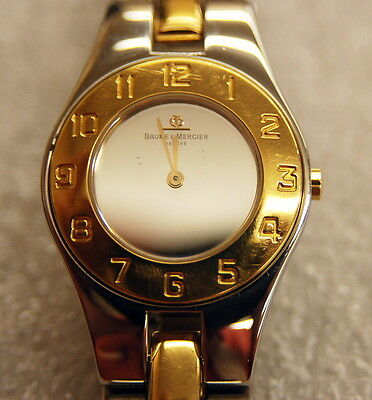 Baume & Mercier Linea Gold & Steel Ladies Watch MVO45183
