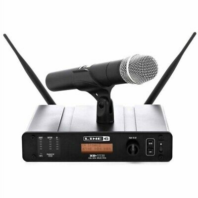 LINE 6 XD-V75 Wireless 2.4GHz Digital 10 in 1 Handheld Rackmount Mic System