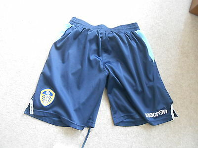 Leeds United Shorts   By Macron  Adults Small