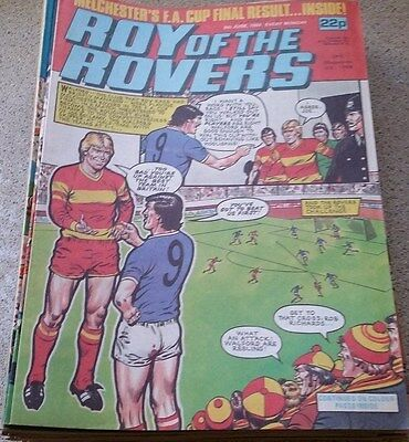 Roy of the Rovers 09th June 1984 Combined Postage Offered For Multiple Buys