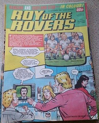 Roy of the Rovers 03rd November 1984 Combined Postage Offered For Multiple Buys