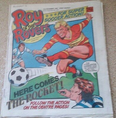 Roy of the Rovers 21st December 1985 Combined Postage Offered For Multiple Buys