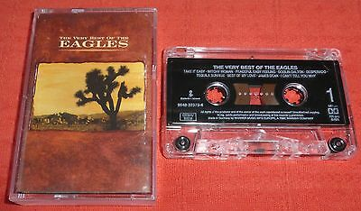 The Eagles - Uk Cassette Tape - The Very Best Of (Greatest Hits)