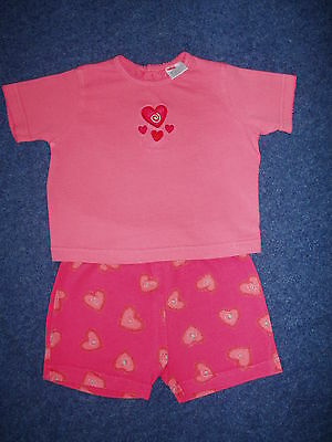 Girls  Outfit / Top/ Shorts ( Boots Make Age 3 To 6 Months )