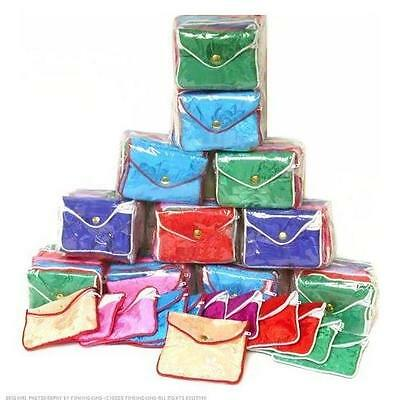 144 Silk Jewelry Pouches for Chain & Bracelet