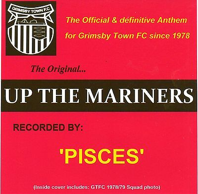 Grimsby Town FC Official Anthem 'Up The Mariners'CD EP.