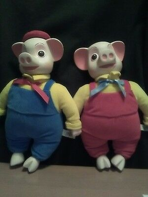 pinky and perky plush soft toys