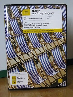 Teach Yourself English as a foreign language Book & Double CD Set