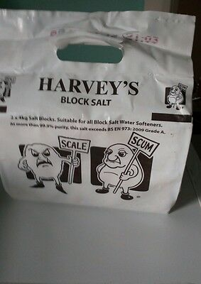 Harveys block salt when buying 20+ packs £4 each.Free local delivery.Msg for inf