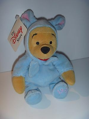 Disney Winnie The Pooh Beanie Plush - Easter Bunny Pooh 1999 New With Tags