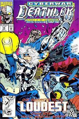 Deathlok (1991 series) #18 in Very Fine + condition. FREE bag/board