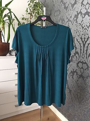 *Immaculate* M&S Womens Ladies Short Sleeve Top Blouse Size 24