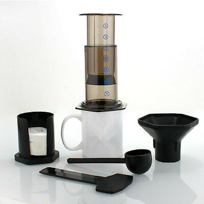 coffee pot / Similar AeroPress Espresso coffee filters + 350pcs Filters Paper