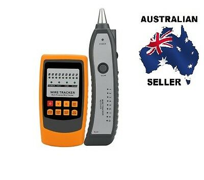 Handheld Wire Tracker And Tester - Cable Tracing, Testing, Shorts Detection