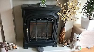 Cast Iron Gas Fire ** Recently inspected **