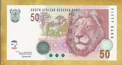 South Africa P-125c Unc 50 Rand Series CP/C ***USA SELLER**