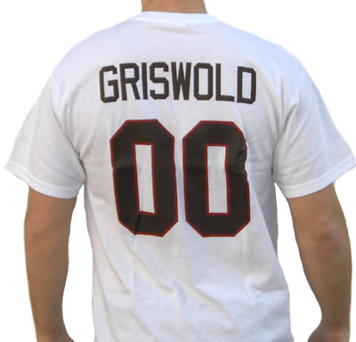Clark Griswold Jersey T-Shirt Christmas Vacation Movie Hockey Chicago Blackhawks