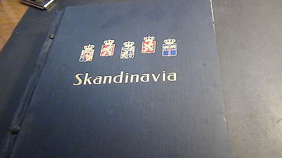 Denmark, Norway Classic stamp collection in DAVO album  to '95