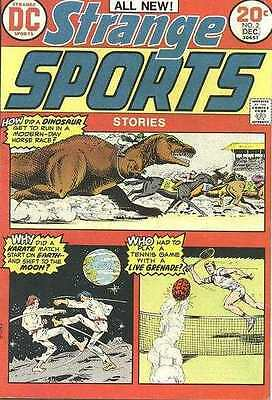 Strange Sports Stories (1973 series) #2 in Very Good + condition