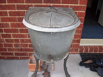 Copper Washing Laundry Boiler Collectable