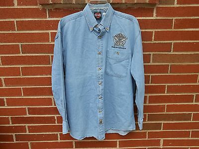 harley davidson denim shirt