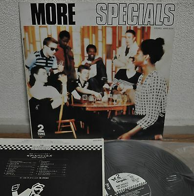 The Specials More Specials Japan 2 Two Tone LP Toshiba WWS-81341 Insert