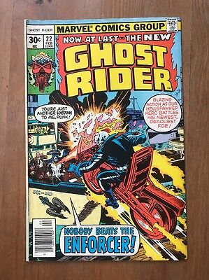 Ghost Rider #22 (Feb 1977, Marvel) VF Nobody Beats The Enforcer!