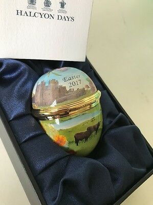 Halcyon Days 2017 Easter Egg Enamel Box Limited Edition