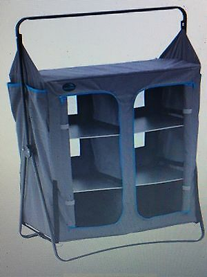 Easy Camp Corby Cupboard Camping Storage Shelf Tent Shelving Furniture Equipment