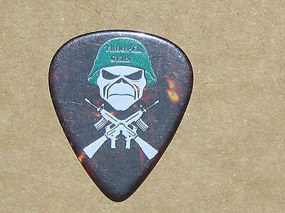 IRON MAIDEN Janick Gers 06-07 World Tour Trooper Gers guitar pick
