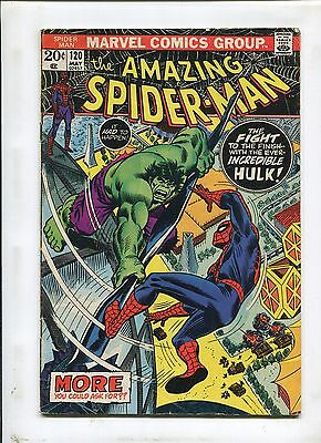 Amazing Spider-Man #120 (6.0) The Fight And The Fury!