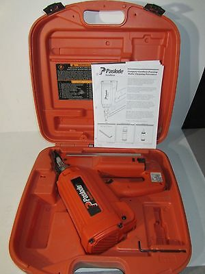 Paslode Impulse IMCT Cordless Framing Nailer Nailgun 900420 W/ Case & Battery