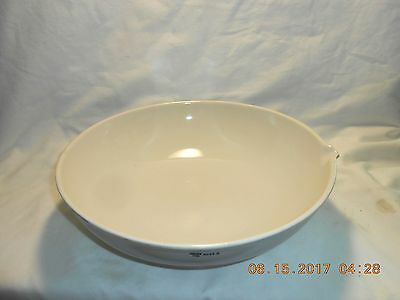 "Vintage Coors USA Large Bowl with Spout Measures 12"" Diameter x 3 1/2"" Tall Nice"