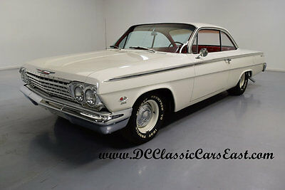 1962 Chevrolet Bel Air/150/210 REAL DUAL QUAD 409 BUBBLETOP, 4-SPD, 2-OWNER, FULL 1962 CHEVROLET BEL AIR BUBBLETOP, REAL 409CI 2X4BBL V8 4-SPEED FROM FACTORY
