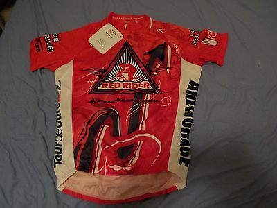 Primal Red Rider Tour de Cure Cycling Jersey Bicycle Road Diabetes S NEW w TAGS