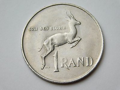 1990 South Africa 1 Rand coin foreign (1571)