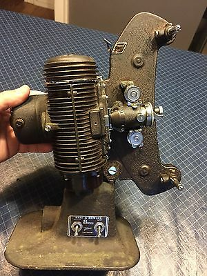 Antique Bell & Howell 8Mm Projector Filmo Master #323763 In Case