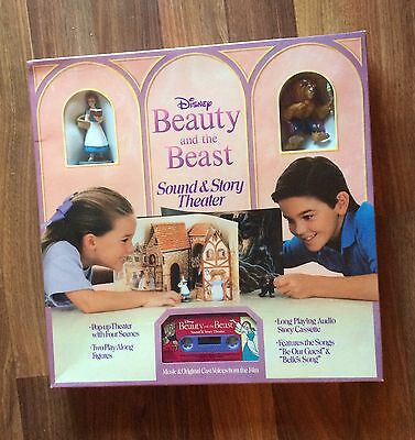 Disney Beauty And The Beast Sound & Story Theatre Brand New Original Shrink Wrap